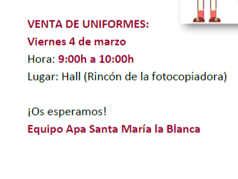Mercadillo de Uniformes